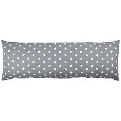 4Home Obliečka na Relaxačný vankúš Náhradný manžel Stars sivá, 45 x 120 cm