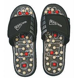 Akupresúrne masážne papuče suché zipsy (nanotextilia s magnetmi) - SJH 314A, 40 - 41