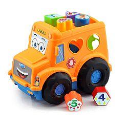 Baby Vkladačka pre najmenších Autobus, 30 cm
