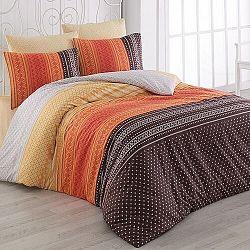 Bedtex obliečky bavlna Summer Oranžové