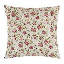 Bellatex Vankúšik Dana Ruže ružová, 45 x 45 cm