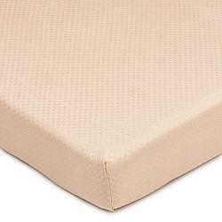 BO-MA Trading Prestieradlo Elisa mikrovlákno béžová, 180 x 200 cm