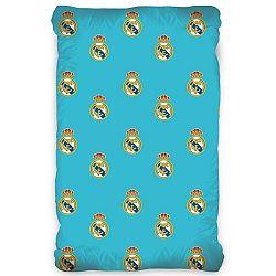 CarboTex Bavlnené prestieradlo Real Madrid, 90 x 200 cm