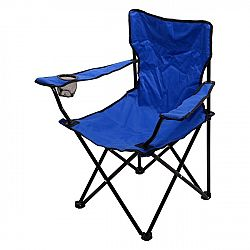 Cattara Židle kempingová skládací BARI modrá
