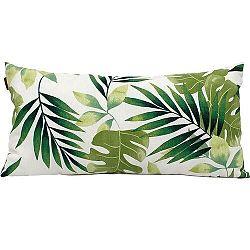 Domarex Obliečka na vankúšik Green Leaves, 30 x 50 cm, 30 x 50 cm