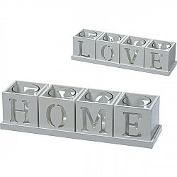 Držiak Na Čajové Sviečky Home & Love