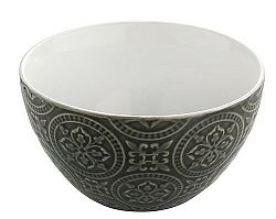 Florina Keramická miska Nadine 14 cm, sivá