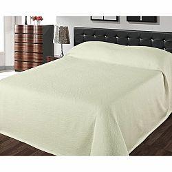 FORBYT Prehoz na posteľ Joselina ecru, 240 x 260 cm
