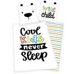 Herding Detské bavlnené obliečky Wild Child, 140 x 200 cm, 70 x 90 cm