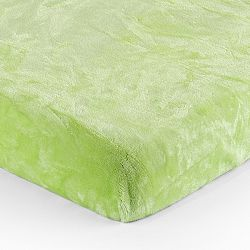 Jahu Plachta Mikroplyš zelená, 90 x 200 cm, 90 x 200 cm