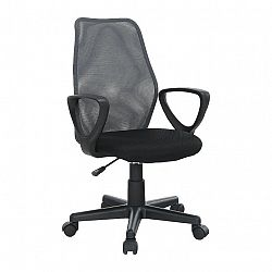 Kancelárska stolička, sivá/čierna, BST 2010 NEW