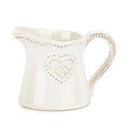 Keramická mliekovka Srdce 180 ml