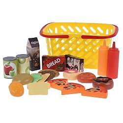 Koopman Detský hrací set Ideme nakupovať, žltá
