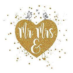 Servítky Mr & Mrs
