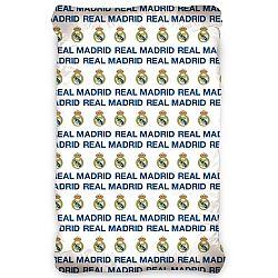TipTrade Bavlnené prestieradlo Real Madrid, 90 x 200 cm
