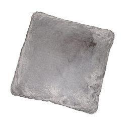 Vankúš, sivá, 45x45, RABITA TYP 3