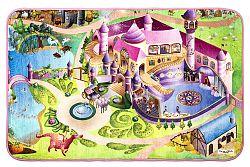 Vopi Detský koberec Ultra Soft Zámok, 130 x 180 cm