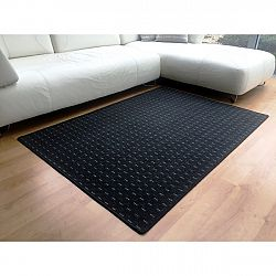 Vopi Kusový koberec Valencia antracit, 60 x 110 cm
