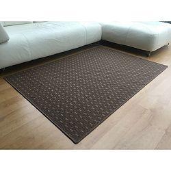 Vopi Kusový koberec Valencia hnedá, 60 x 110 cm