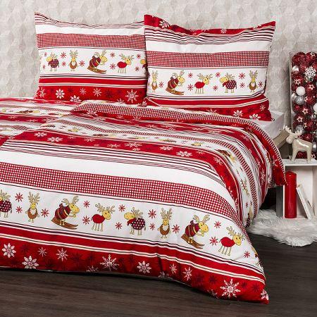 4Home Bavlnené obliečky Sobíky, 160 x 200 cm, 70 x 80 cm, 160 x 200 cm, 70 x 80 cm