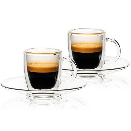 4home Termo pohár Ristretto Hot&Cool, 50 ml, 2 ks