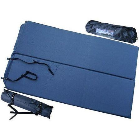 Acra Samonafukovacia karimatka pre 2 osoby modrá, 186 x 110 x 2,5 cm