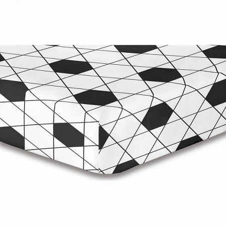 DecoKing Prestieradlo Harmony S1, 160 x 200 cm
