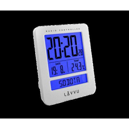 Digitálny budík Lavvu Duo White, 9,2 cm