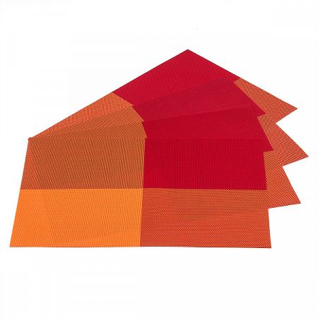 Jahu Prestieranie DeLuxe oranžová, 30 x 45 cm, sada 4 ks