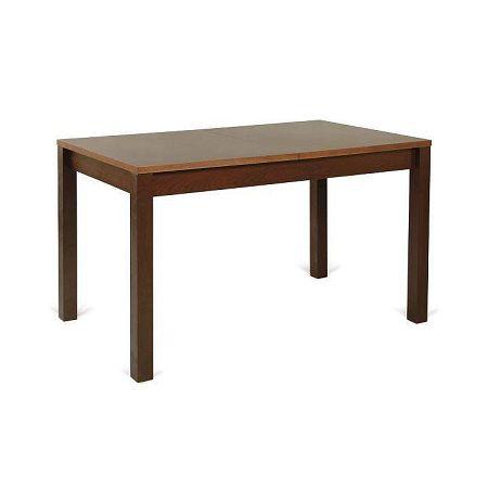 Jedálenský stôl, 128/168x75 cm, rozkládací, orech, ANGELO ST18