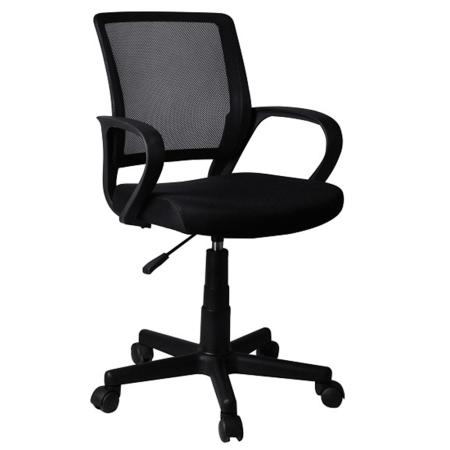 Kancelárska stolička, čierna, ADRA