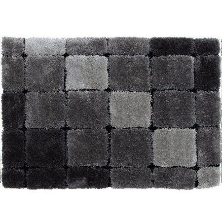 Koberec, sivá, 140x200, LUDVIG TYP 2