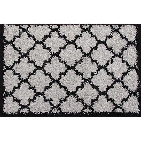 Koberec, sivá/čierna, 100x150, TATUM TYP 2
