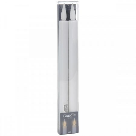 Koopman Sada LED sviečok Infiesto, 2 ks