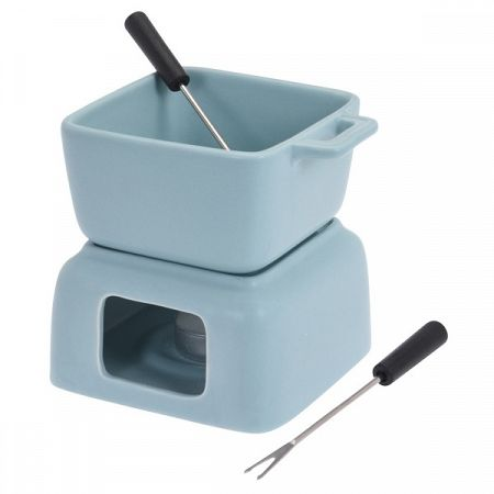 Koopman Set na čokoládové fondue, modrá