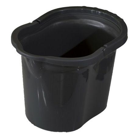 Vedro oválne 11 litrov, sivá