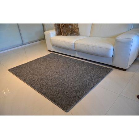 Vopi Kusový koberec Color shaggy sivá, 140 x 200 cm