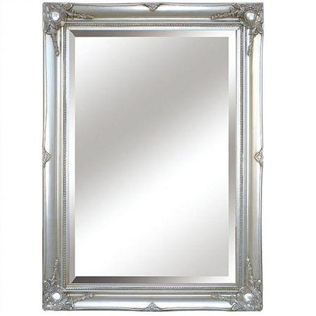 Zrkadlo, strieborný rám, MALKIA TYP 7, rozbalený tovar